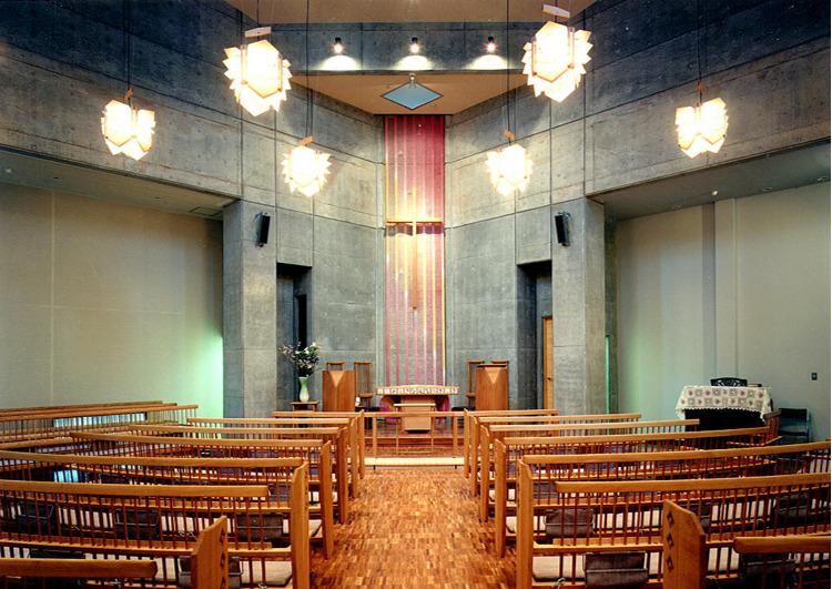 【教会】設計作品(主に総合建設会社在籍中のもの)|N研(中尾建築研究室)代表 中尾英夫