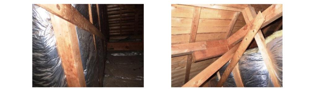 暑い屋根裏|おすすめホームインスペクション|新築・中古・自宅の住宅診断